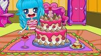 小可爱开蛋糕派对5