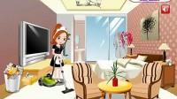 酒店清洁女工1