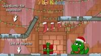 圣诞节怪物吃糖果选关版2