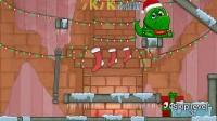 圣诞节怪物吃糖果选关版9