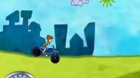 小屁孩骑摩托1
