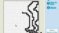 铅笔画迷宫01
