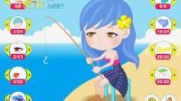 钓鱼女孩演示1