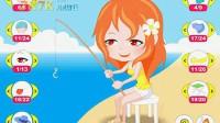 钓鱼女孩演示3