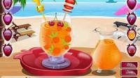 五彩水果冰沙演示3
