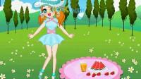 女孩郊外野餐03