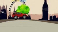 红色大吉普车01