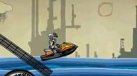 机器人摩托艇01