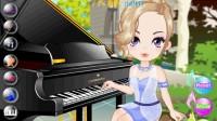 美女钢琴演奏03