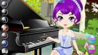 美女钢琴演奏05