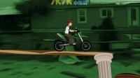少年骇客山地摩托01
