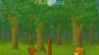 小熊打排球01