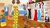 夏季长裙演示1
