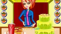 装饰生日蛋糕演示1