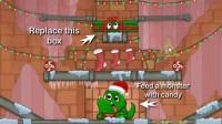 怪物吃糖果圣诞版1