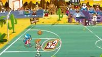 街头篮球赛演示1