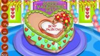 新款情人节蛋糕演示05