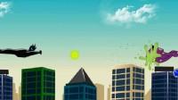 电蜥人拯救城市