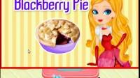 苹果黑莓馅饼制作展示