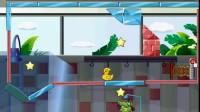 小鳄鱼吃鸭子17