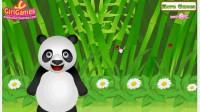 照顾熊猫宝贝