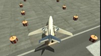 3D飞机停靠展示3