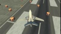 3D飞机停靠展示4