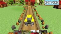 农场拖拉机停车1