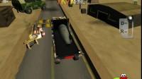 炸弹运输大卡车
