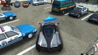 3D警车停车场A-4