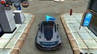 3D警车停车场A-3