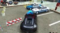 3D警车停车场A-5