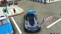 3D警车停车场A-7