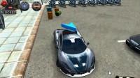 3D警车停车场A-8