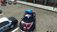 3D警车停车场A-10