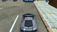3D警车停车场B-1