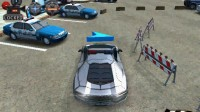 3D警车停车场B-3