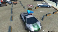 3D警车停车场B-5