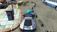 3D警车停车场B-7
