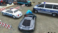 3D警车停车场B-8