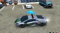 3D警车停车场B-9