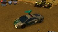3D警车停车场B-12