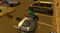 3D警车停车场B-11