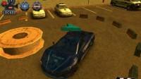 3D警车停车场C-4