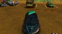 3D警车停车场C-7