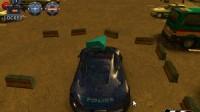 3D警车停车场C-8