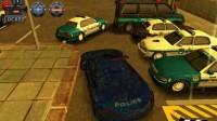 3D警车停车场C-12