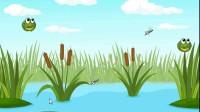 跳跃青蛙吃蚊子