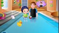 可爱宝贝的游泳时光3