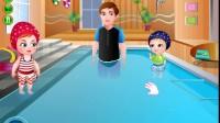 可爱宝贝的游泳时光4
